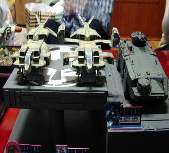 4번째, 에일리언 드랍쉽& 전투차량01.JPG